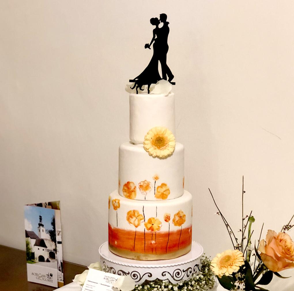Bemalte Torte