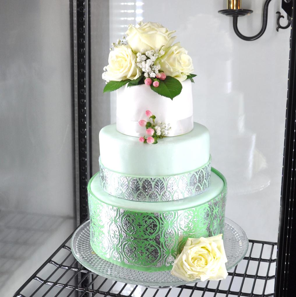 Torte in Grün