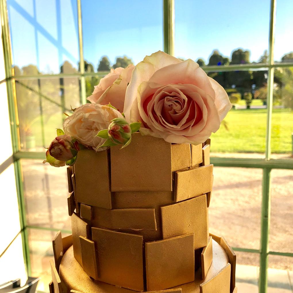 Goldene Torte