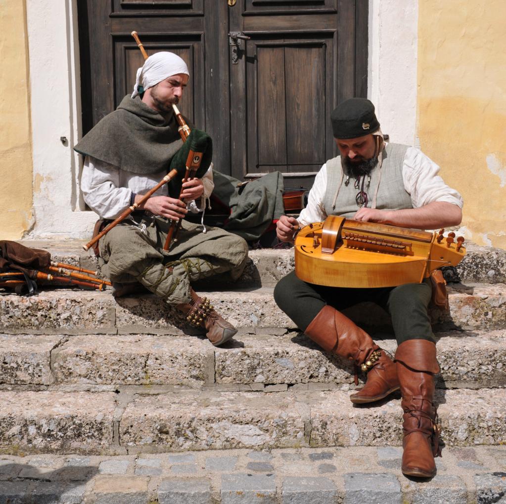 Mittelalter Spielleute