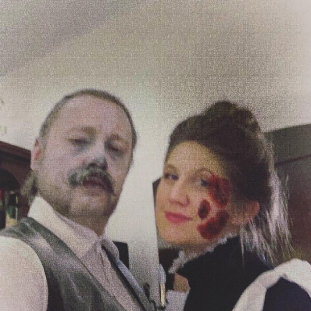 Halloweenpaar