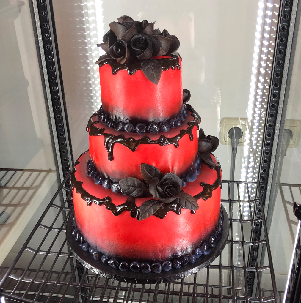 Rote Torte