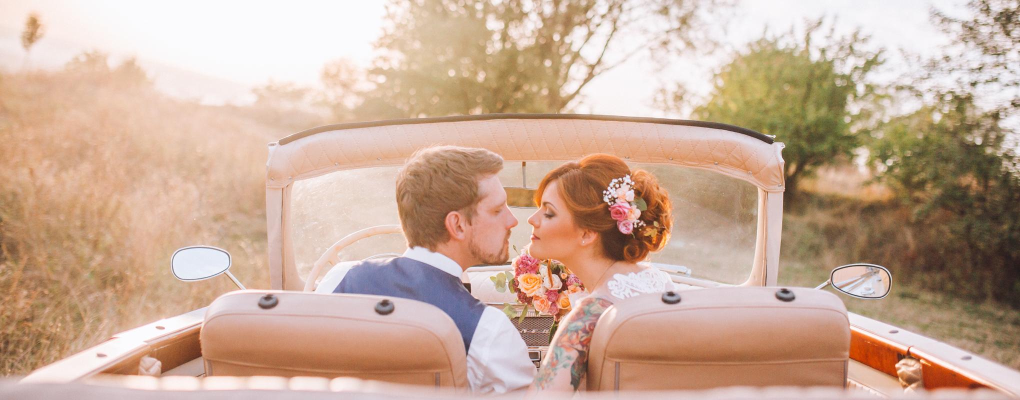Heiraten Fahrzeug